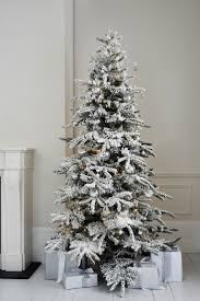 6 Ft Flocked Christmas Tree Uk by Christmas Christmas Tree With Fake Snow Flocked Trees Themed
