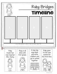Awesome Collection Of Ruby Bridges Worksheets In Summary