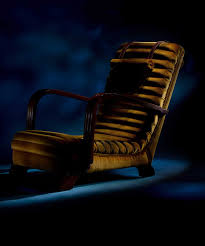 The 'Streamline Moderne' Art Deco Club Lounge Chairs ...