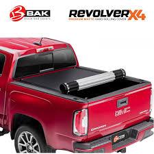 100 Vinyl Truck Bed Cover BAK Revolver X4 Hard Roll Up Tonneau 20152019 Chevy