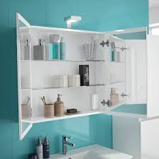 allibert spiegelschrank 80 cm weiß glänzend eek a