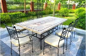table de jardin metallique pliante bistro collection fermob