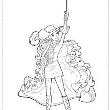 How To Draw Barbie And Three Musketeers Coloring Pages