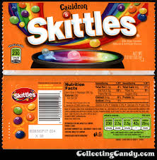 Halloween Candy Carb List by New For Halloween 2016 Cauldron Skittles Plus 2015 U0027s Starburst
