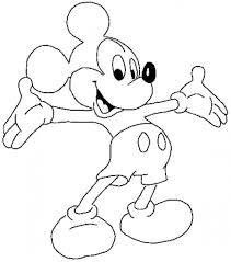 Mickey Mouse Coloring Page Pictures To Color 28022 Thecoloringpage Download