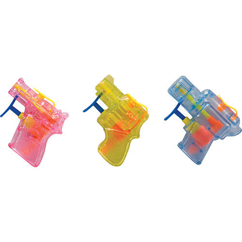 Schylling Mini Squirt Guns - Assorted Colors, 3 Pack