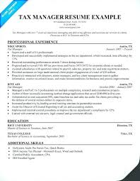 Computer Management Resume Examples With Tax Manager For Produce Inspiring Operations 654