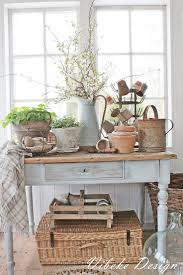 Rustic Chic Dining Room Ideas by Best 25 Shabby Chic Console Table Ideas On Pinterest Pottery