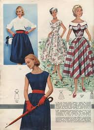 Four Positively Lovely 1950s Springtime Looks Vintage Dresses Separates