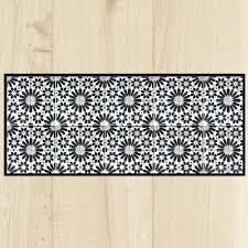 tapis pour la cuisine tapis de cuisine carreaux gris
