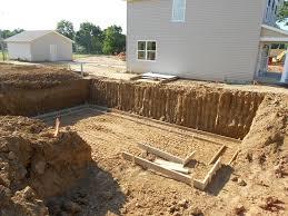 Construction Of Basement by Basement Foundation Construction Of House Foundation Basement
