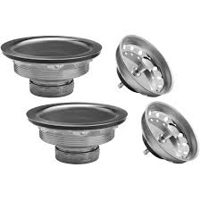 Install Sink Strainer Basket by Glacier Bay Sink Strainer With Double Cup Installation 7044 108ss