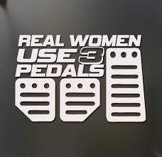 Real Women Use 3 Pedals Sticker Funny JDM Honda Girl Race Car ... Amazoncom Baby On Board Sticker Carlos Hangover Funny Car Concrete Truck Funny Stickers Car Decals Comedy Bigfoot Hide And Seek World Champion Vinyl Decal No Road Problem 4x4 Offroad Truck Sticker Mind If I Smoke Diesel Powered Cheap Cool For Guys Custom Deandancecom Page 3 73 Powerstroke Diesel Decal Vinyl Diesel Pair Warning Ebay Think Twice Because I Wont Guns New Tail Snail Cartoon Jdm Auto