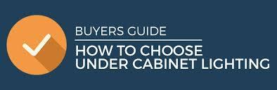 how to choose cabinet lighting pegasus lighting