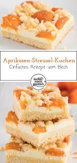 aprikosenkuchen mit quark streuseln backen macht glücklich