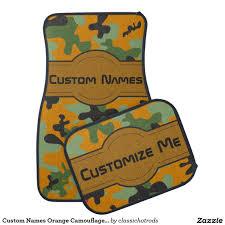 100 Camo Floor Mats For Trucks Custom Names Orange Uflage Personalized Car Mat Custom
