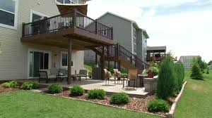 Two-Level Deck In The Backyard Video | DIY Fiberon Two Level Deck Decks Fairfield County And Decking Walls Patios 2 Determing The Size Layout Of A Howtos Diy Backyard Landscape 8 Best Garden Design Ideas Landscaping Our Little Dirt Pit Stephanie Marchetti Sandpaper Glue Large Marine Style Home With Jacuzzi View Stock This House Has Sunken Living Room So People Can Be At Same 7331 Petursdale Ct Boulder Luxury Group Real Estate Patio The 25 Tiered On Pinterest Multi Retaing Wall Plants In Backyard Photo Image Bathroom Wooden Hot Tub Using Privacy Screen Pictures Arizona Pool San Diego