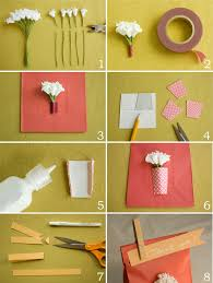 DIY Paper Vase Favor Bags From Once Wed