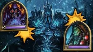 hearthstone the lich king with a 200 dust mage deck download