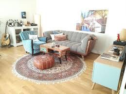 wohnzimmer inspiration mit retro sitzecke schönem orient