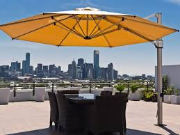 Offset Rectangular Patio Umbrellas by Rectangular Offset Patio Umbrella Aytsaid Com Amazing Home Ideas