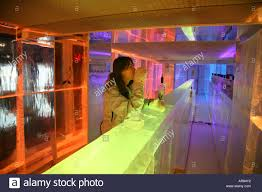 100 The Kube Hotel Paris Ice Bar In The In Temperature Is Kept At 10