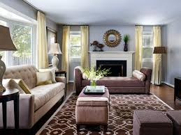 Living Room Decorating Brown Sofa by Living Room Gray Sofa Brown Wooden Dresser Grey Cushions White