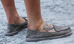 Rachel Atherton Foot Tattoo