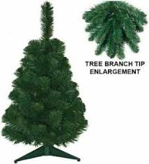 2 Foot Norway Pine Miniature Artificial Christmas Trees By CDG 1276 Allergy And Fire