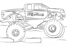 A Simple Monster Truck Coloring Page - Free Coloring Pages Online Monster Truck Drawing At Getdrawingscom Free For Personal Use Grave Digger Clipartxtras Fresh Coloring Pages Trucks With Is Very Fast Coloring Page Kids Transportation Page Kids Books To A Easy Step By Transportation Pages Thread Drawings To Print New Sheets Printable Dot Learning Stock Vector Hd Royalty Karl Addison