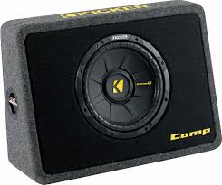 Kicker 40TCWS104 Ported Truck Enclosure With One 4-ohm 10