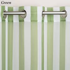 Vertical Striped Curtains Panels by Escape Stripe Outdoor Grommet Curtain Panels