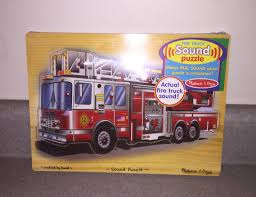 Find More Melissa & Doug Fire Truck Puzzle W/sound Nip For Sale At ... Melissa Doug Fire Truck Floor Puzzle Chunky 18pcs Disney Baby Mickey Mouse Friends Wooden 100 Pieces Target And Awesome Overland Park Ks Online Kids Consignment Sale Sound You Are My Everything Yame The Play Room Giant Engine Red Door J643 Ebay And Green Toys Peg Squirts Learning Co Truck Puzzles 1
