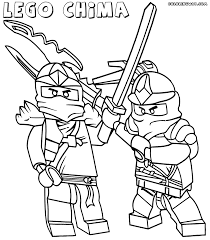 Coloring Pages Lego Chima To And