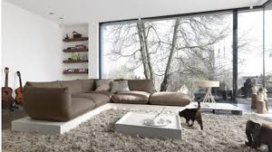 Open Airy Contemporary Living Room Trend 2015