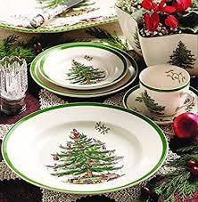 Amazon Spode Christmas Tree Salad Plates Set Of 4