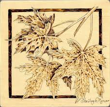 free wood burning patterns for beginners wooden box wood burned