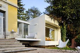 100 Centuryhouse Tiny Floating Cube Extends A Charming 19th Century House In France