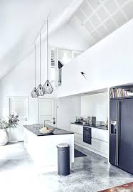 pendant lights for high ceilings white kitchen with high ceiling