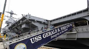 100 Aircraft Carrier Interior Smithsonian Documentary Takes An Inside Look At Ford Carrier