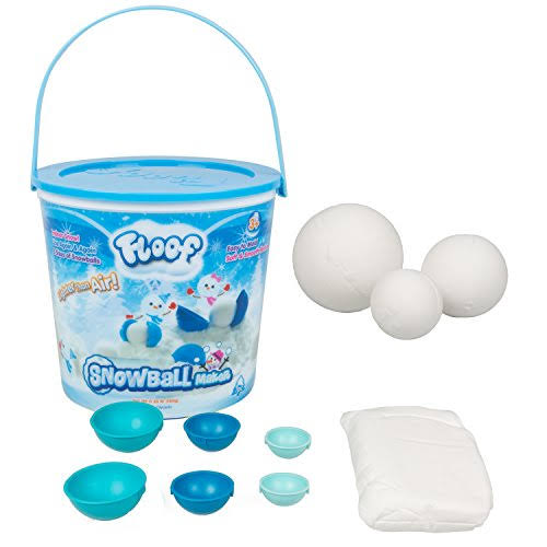 Floof Modeling Clay Reuseable Indoor Snow Snowball Maker