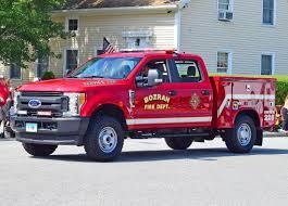 100 Ford F250 Utility Truck Bozrah Zacks Fire Pics