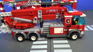 LEGO City Fire Station 7945 - YouTube Lego City Fire Ladder Truck 60107 Walmartcom Brigade Kids Pin Videos Images To Pinterest Cars 2 Red Disney Pixar Toy Review Howto Build City Station 60004 Review Boxtoyco Moc 60050 Train Reviews Lego Police Buy Online In South Africa Takealotcom Undcover Wii U Games Nintendo Playing With Bricks My Custom A Video Update 60002 Amazoncouk Toys Airport Remake Legocom