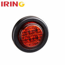 100 Marker Lights For Trucks China 25 Round Red LED Indicator Automotive Side