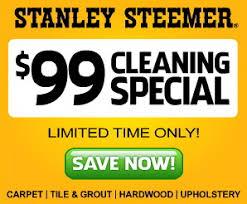 stanley steemer washington dc stanley steemer 99 special