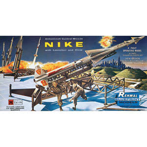 Renwal Nike Antiaircraft Guided Missile 1/32 Scale