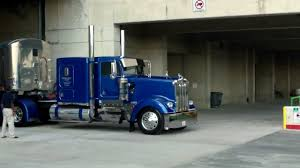 100 American Trucking Trucks Leaving The Great Show 2013 YouTube