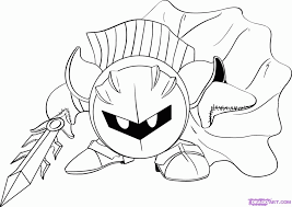 Coloring Pages Popular Meta Knight