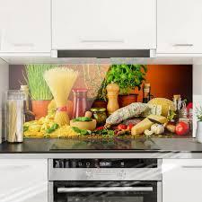 spritzschutz glas italienische küche panorama