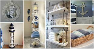 Bathroom: Inspiring Nautical Bathroom Decor For Kitchen And Bathroom ... Guest Bathroom Ideas Luxury Hdware Shelves Expensive Mirrors Tile Nautical Design Vintage Australianwildorg Decor Adding Beautiful Dcor Nautica Tiles 255440 Uk Lovely 60 Inspiring Remodel Pb From Pink To Chic A Horrible Housewife 25 Stunning Coastal 35 Awesome Style Designs Homespecially For Home Purple Small Blue With Wascoting And Clawfoot Fresh Colors Modern